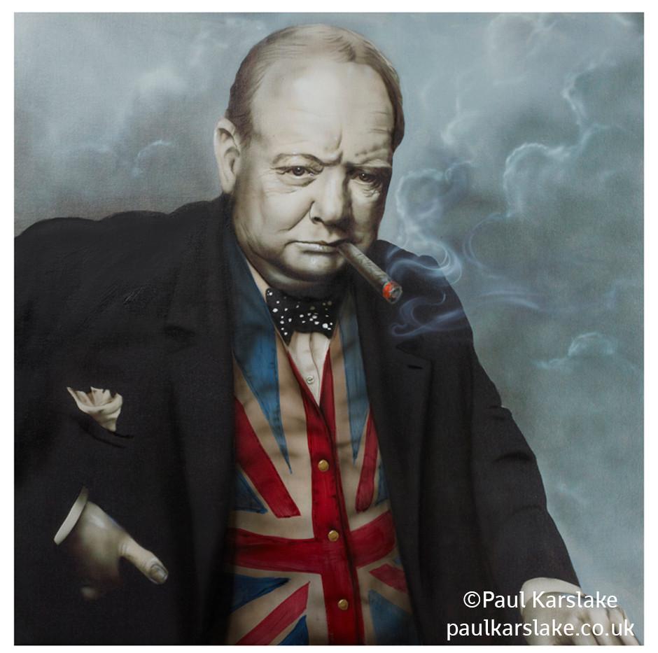 Churchill - Man of the Flag