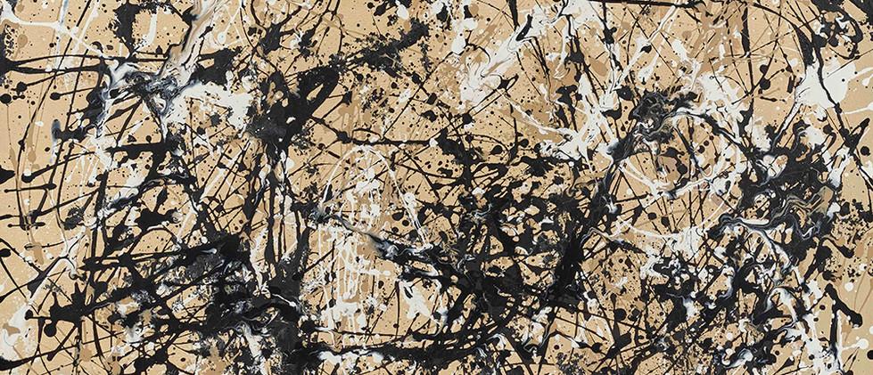Jackson Pollock - Autumn Rhythm