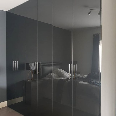 High Gloss Fitted Wardrobes