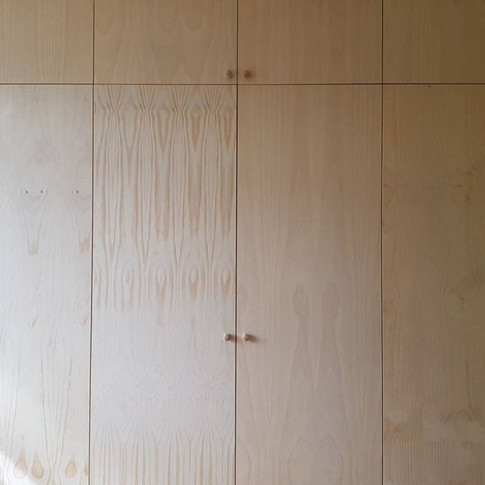 Pine Fitted Wardrobes