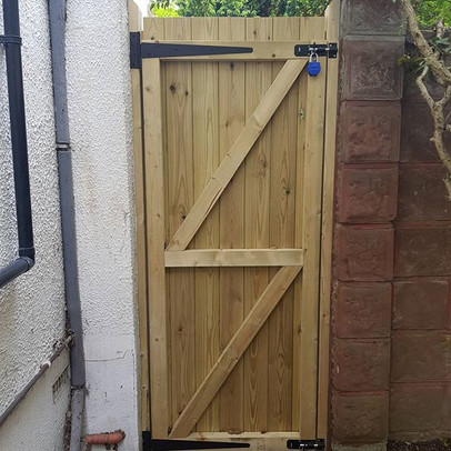 New Side Gate