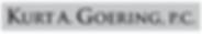 Kurt A. Goering, p.c-Logo.png
