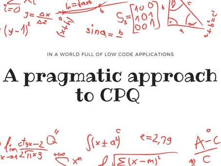 How to approach CPQ projects ?