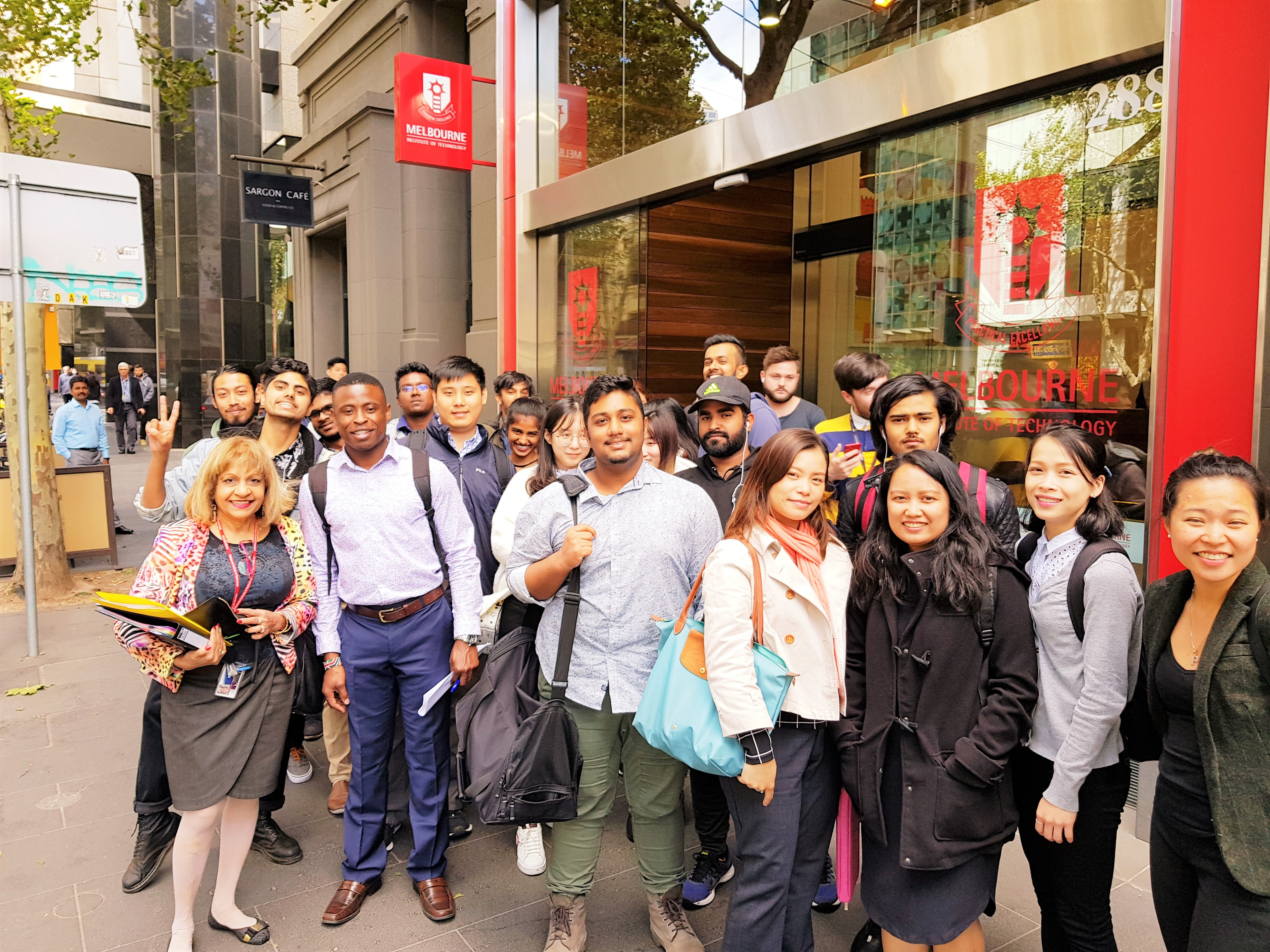 T1 2019 Dr VK taking BB330 students to T