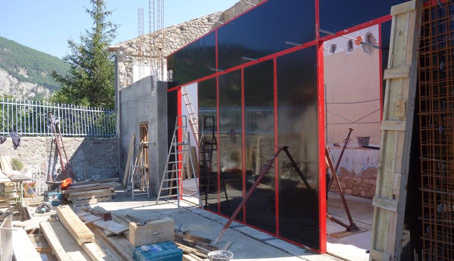 Commune de St Benoit – Réhabilitation du bâtiment de l'ancienne école – création d'une salle polyvalente et d'un gîte
