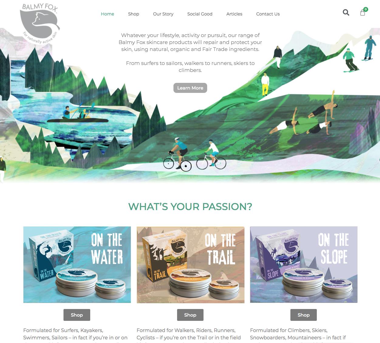 Balmy Fox Home Page