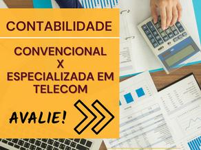 Contabilidade Convencional X Especializada em Telecom?