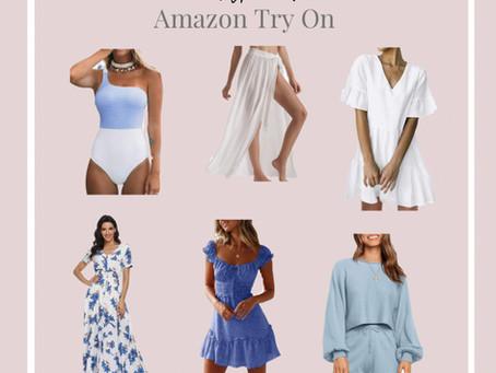 AMAZON summer TRY-ON