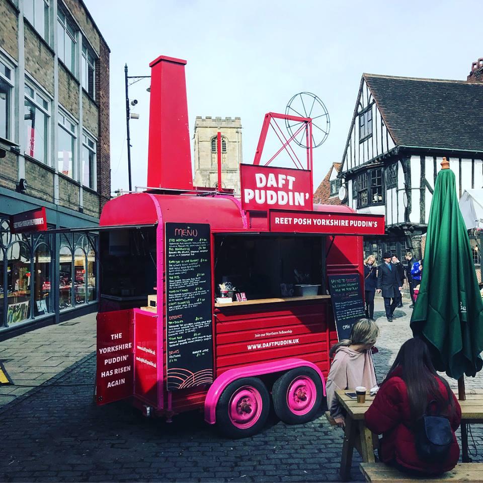 Daft Puddin' in Shambles Market
