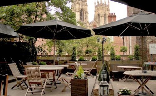 A Pint with views of the Minster