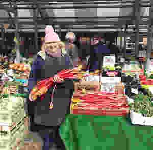 Jean in the Shambles Market