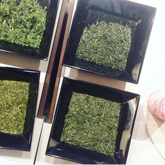 Selection of Japanese tea