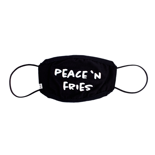 """Mask """"Peace 'n Fries"""" - Collab The Fry Society"""