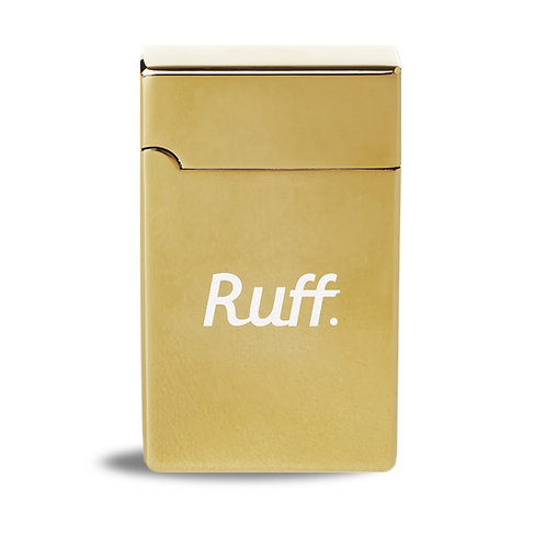 Isqueiro Ruff x PurpleFire® -Dourado