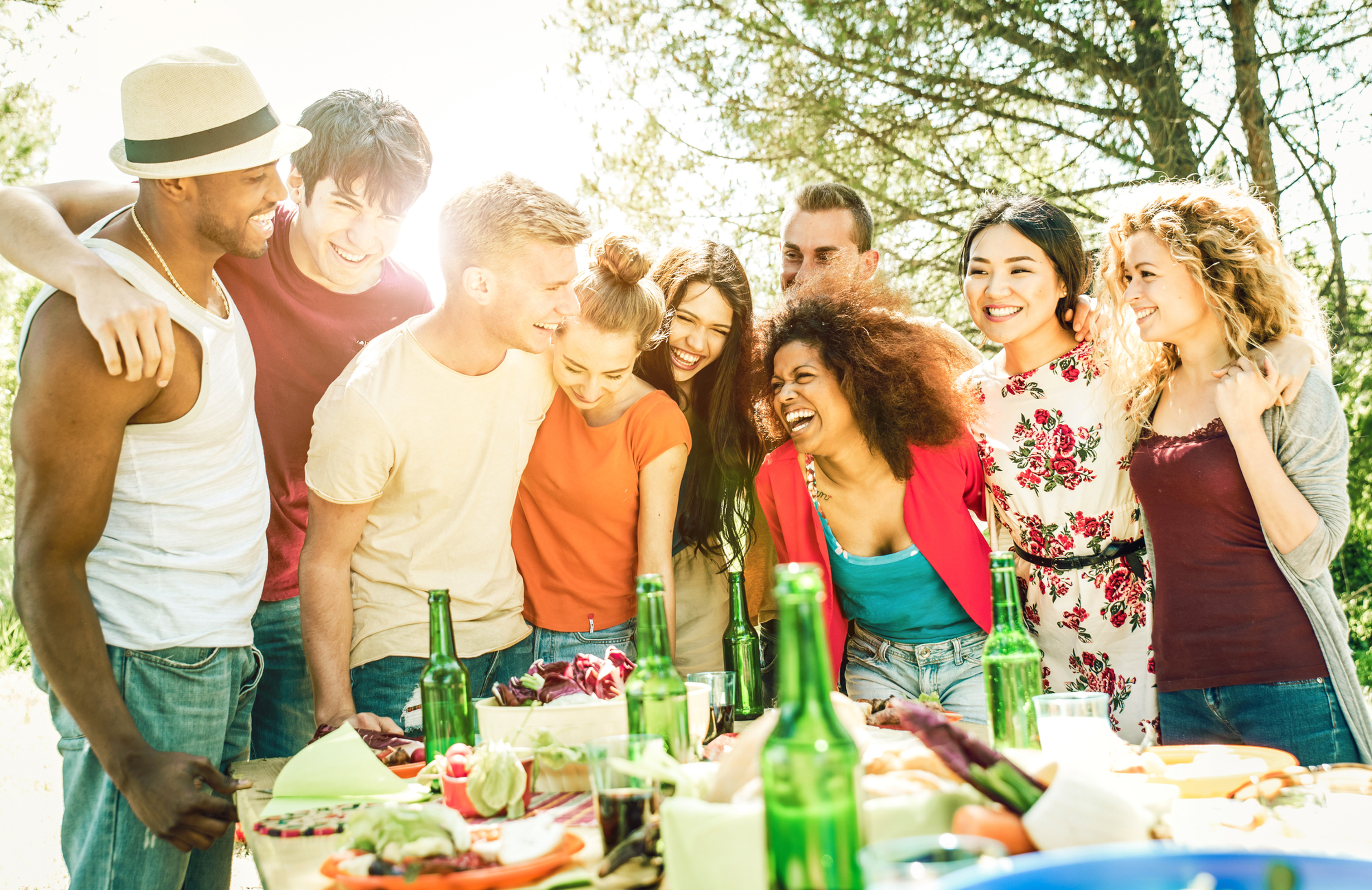 Family Reunion Outdoor Pavilion Rental
