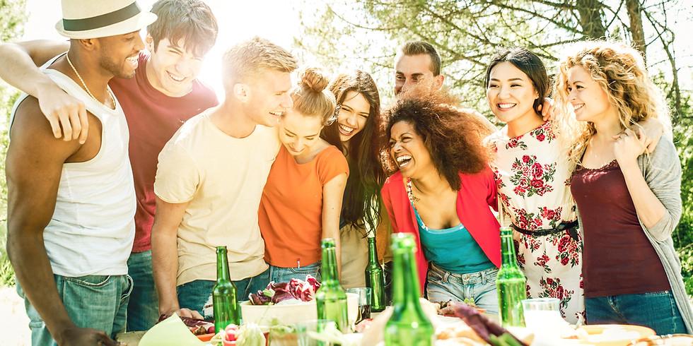 Adults Cul-de-sac Social