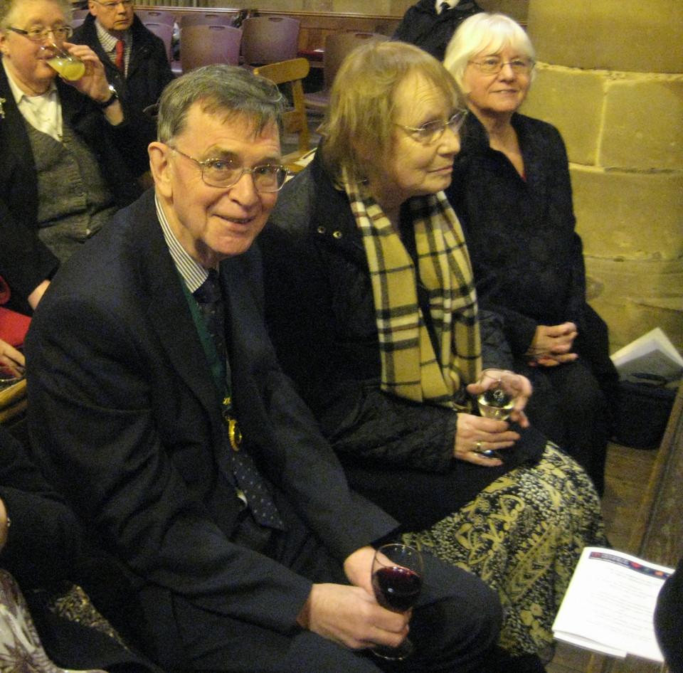 Parish Council chairman Graham Garner and wife Sandra.JPG