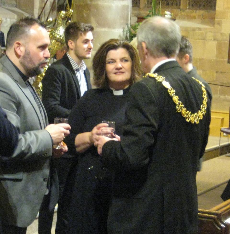Josh, Jules and the mayor March 2018.JPG