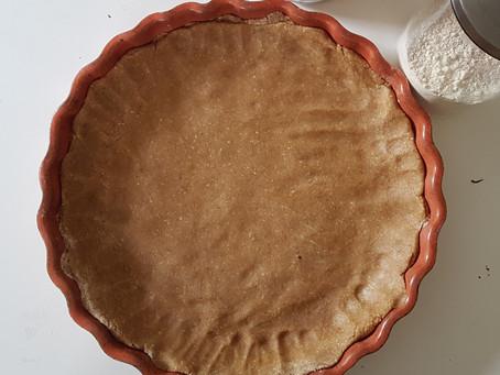 Fond de tarte aux flocons d'avoine (sans beurre)