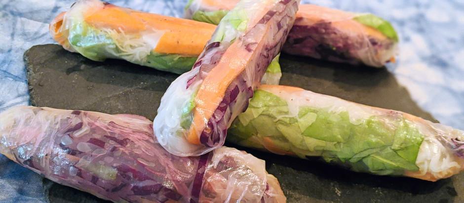 Rouleaux de printemps végétarien