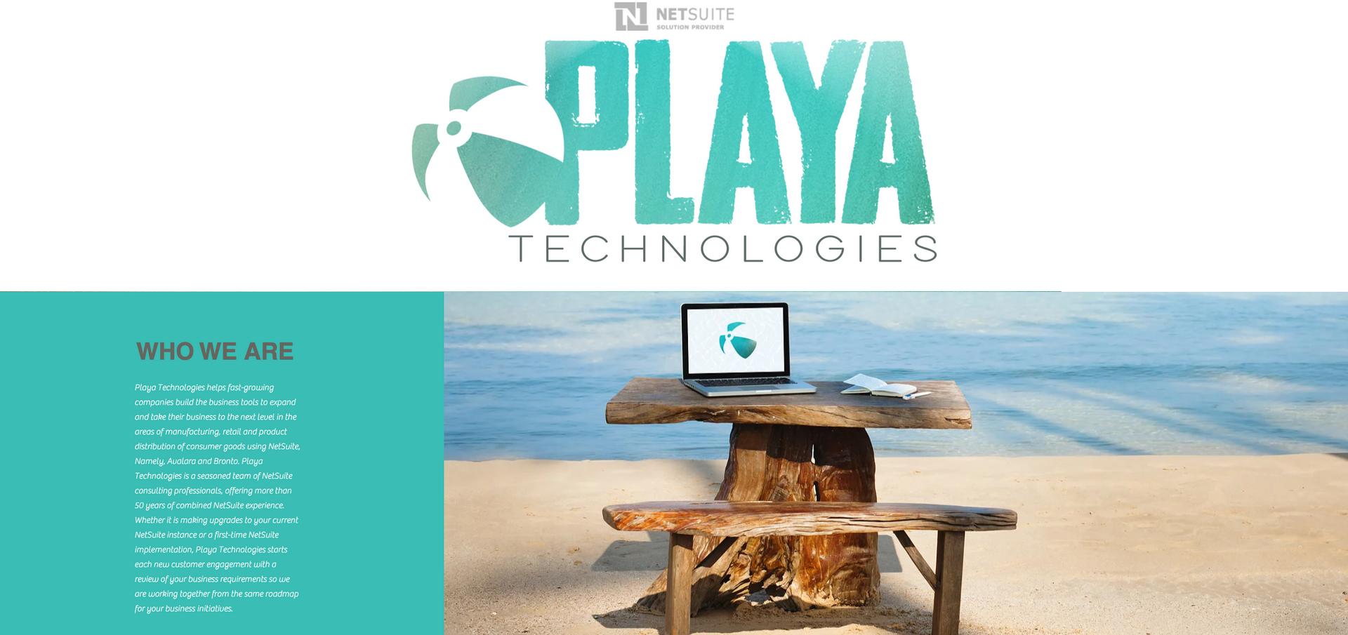 PLAYA TECHNOLOGIES