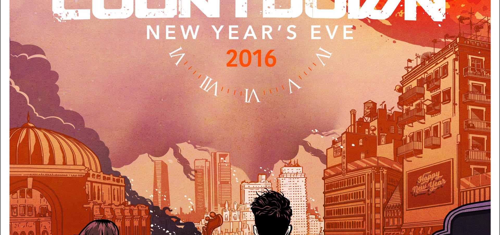 COUNTDOWN 2016 LE PROMO POSTER