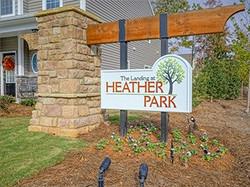 Heather Park Sign