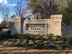 Ballentine Place Sign
