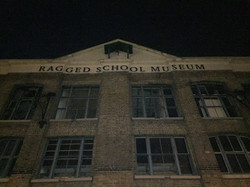 Creepy building exterior