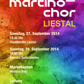 Martino-Chor & Marimbaphon - Weltmusikkonzert 2014