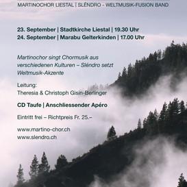 Martino-Chor - Morgon Vaknar - Weltmusik 2017
