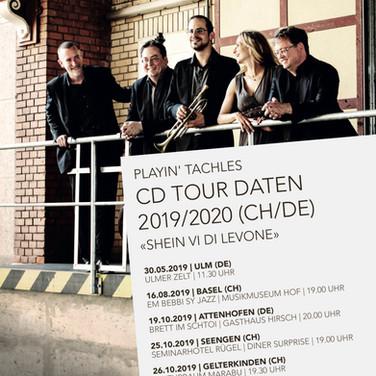 Tourdaten 2019