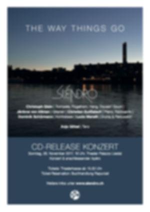 Sléndro CD-Release, Christian Gutfleisch, Christoph Gisin