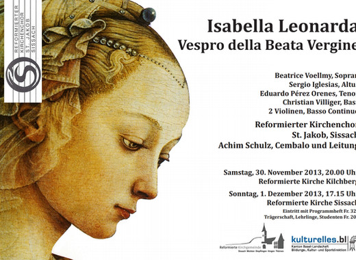 Vespro Della Beata Vergine 2013