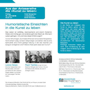 Playin Tachles & Lorenz Keiser
