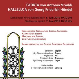 Martino-Chor singt Vivaldi & Händel 2015