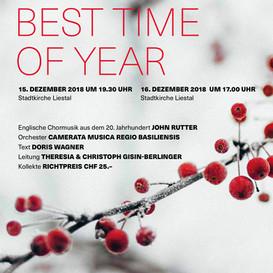 Best Time Of Year - Martino-Chor & Kammerchor Liestal 2018