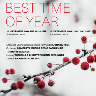Best Time Of Year - Martino-Chor & Kammerchor Liestal 2018
