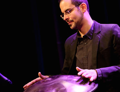 Christoph Gisin, trompete, trumpet, hang, handpan, slendro, sléndro, compositions, percussion