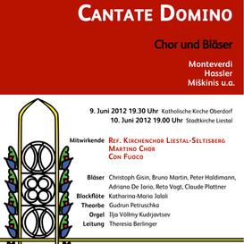 Martino-Chor singt Renaissancemusik - 2012