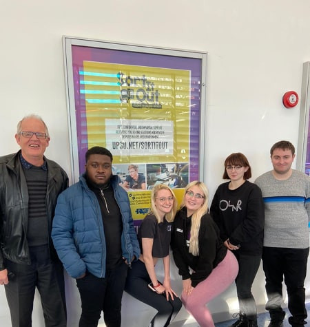 Sort it Out Team with Founder of Portsmouth Mediation Service