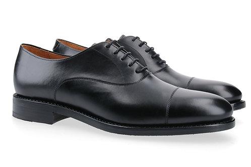 Berwick Oxford Captoe schwarz seitlich