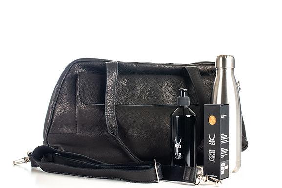 ilpasio Duffle Bag negro -Sporttasche/ Weekender schwarz