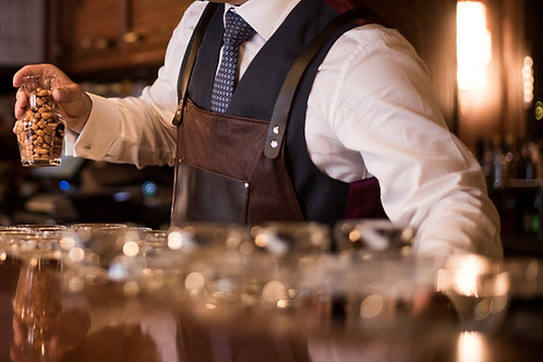 ilpasio Lederschürze marrón - Lederschürze braun