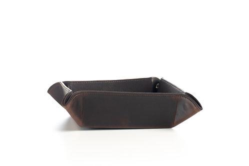 ilpasio Taschenleerer marrón - Taschenleerer Leder braun Gesamtansicht