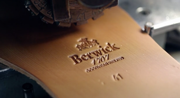 Berwick Rahmengenähte Schuhe