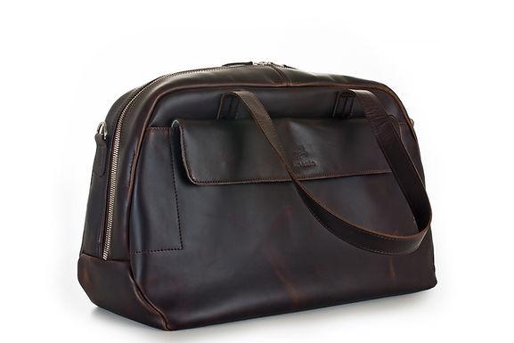 ilpasio Duffle Bag marrón -Sporttasche/ Weekender braun
