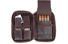 Zigarrenetui Leder braun| Zigarren Etui Leder braun