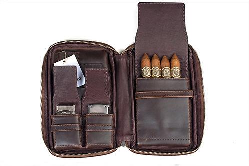 ilpasio Zigarrenetui marrón - Zigarrenetui braun Vorderansicht