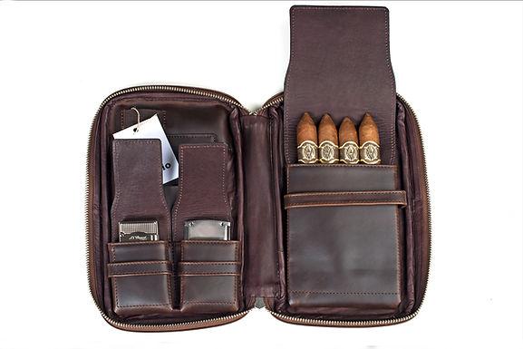 ilpasio Zigarrenetui marrón - Zigarrenetui braun